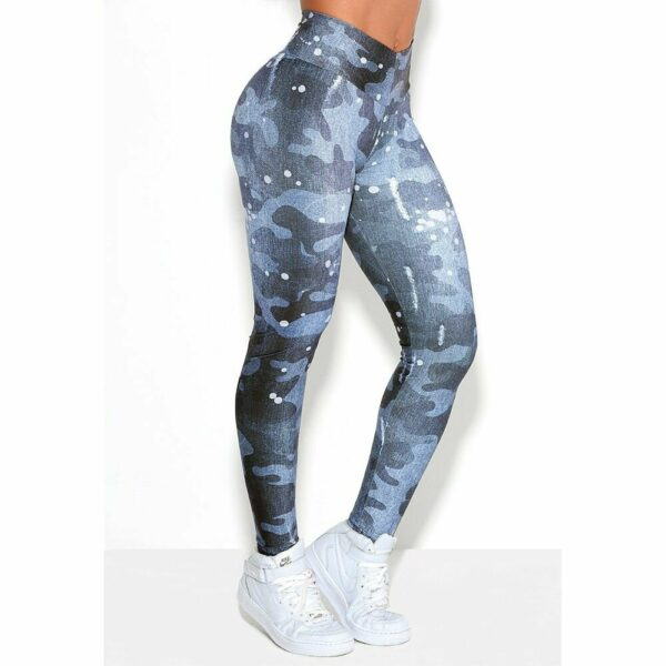 Legging Fitness Army Jeans Rock Code